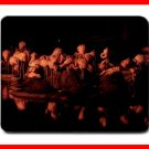 Pink Flamingos Party Night Mouse Mouse Pad MousePad Mat 204