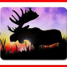 Moose At Sunrise Wildlife Mouse Mouse Pad MousePad Mat 207