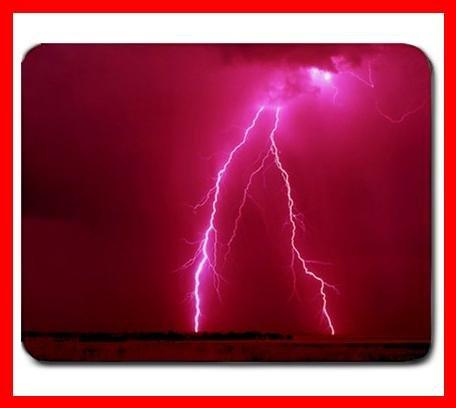 Lightning Strike Hobby Fun Mouse Mouse Pad MousePad Mat 220