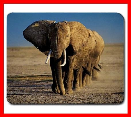 Elephant Troops Animal Hobby Mouse Pad MousePad Mat 234