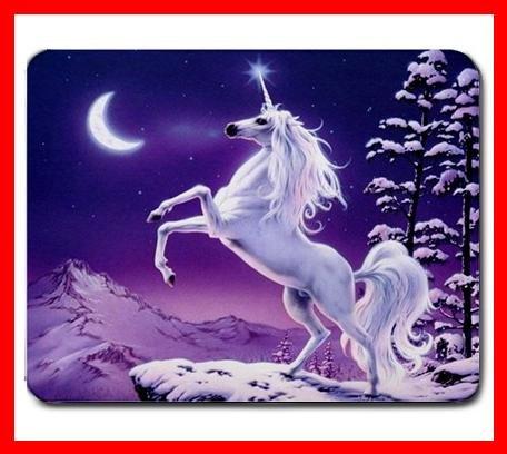 Unicorn Magic Snow Moon Hobby Mouse Pad MousePad Mat 235