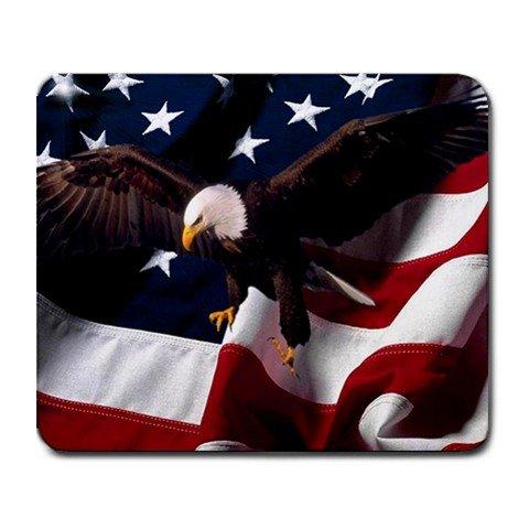 American Flag Eagle Bird Nation Hobby Mouse Pad MousePad Mat 249