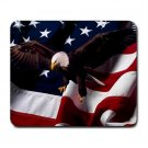 American Flag Eagle Bird Nation Hobby Mouse Pad MousePad Mat 249
