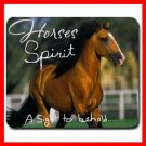 Horse Spirit A Sight Behold Mouse Pad MousePad Mat 251