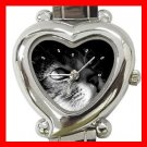 Cute Cat Kitty Pet Animal Italian Charm Wrist Watch 002