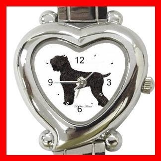 Black Russian Terrier Dog Pet Hobby Italian Charm Wrist Watch 019