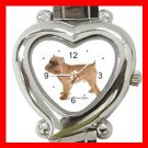 Brussels Griffon Dog Pet Hobby Italian Charm Wrist Watch 020