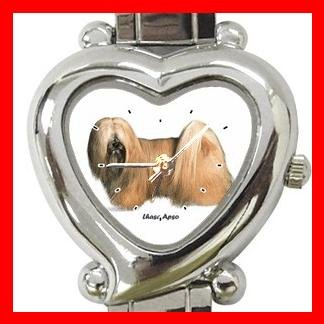 Lhasa Apso Dog Pet Hobby Italian Charm Wrist Watch 025