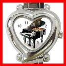 PIANO Music Instrument Hobby Italian Charm Wrist Watch 040