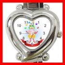 CLOWN JUGGLER JUGGLING CIRCUS FUN Italian Charm Wrist Watch 043