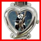 Cute Panda Sleep Animal Fun Italian Charm Wrist Watch 058