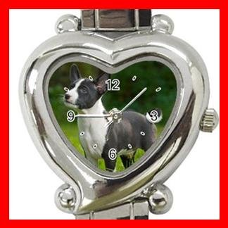Basenji Dog Pet Hobby Italian Charm Wrist Watch 059