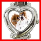 Cavalier King Charles Spaniel Dog Pet Hobby Italian Charm Wrist Watch 067