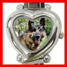 German Shepherd Dog Pet Hobby Italian Charm Wrist Watch 070