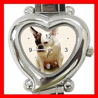 French Bulldog Dog Pet Hobby Italian Charm Wrist Watch 071