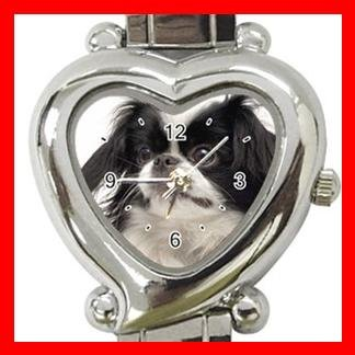 Japanese Chin Dog Pet Hobby Italian Charm Wrist Watch 081