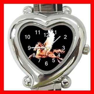 Carousel Horse Myth Fantasy Italian Charm Wrist Watch 100