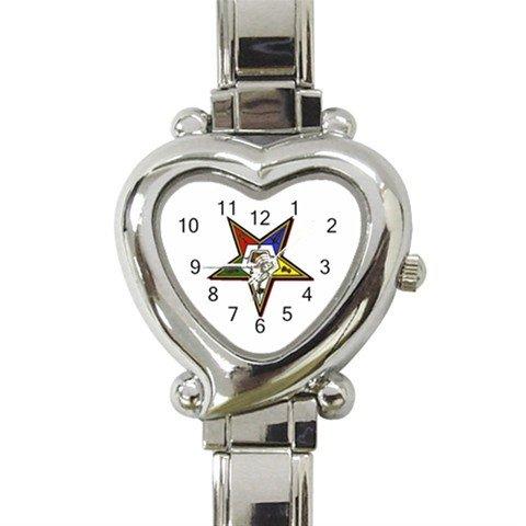 Order Of The Eastern Star Italian Charm Wrist Watch 109