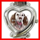 English Setter Dog Pet Italian Charm Wrist Watch 110