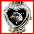Eagle Eye American Flag Italian Charm Wrist Watch 111