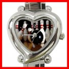 Bowling Sport Game Heart Italian Charm Wrist Watch 138