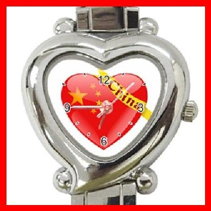 China Heart Love Heart Italian Charm Wrist Watch 139