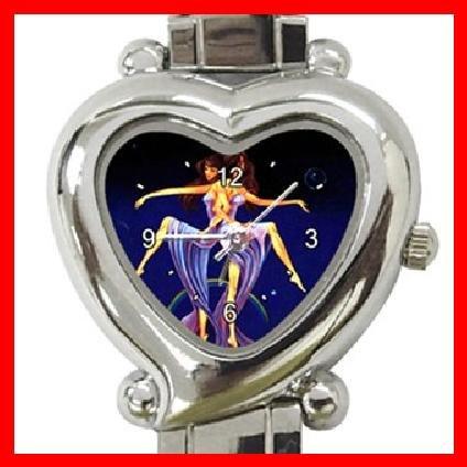 Gemini Zodiac Heart Italian Charm Wrist Watch 141