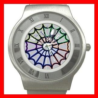 The Spider Web Stainless Steel Wrist Watch Unisex 007