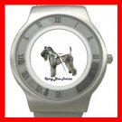 Kerry Blue Terrier Dog Pet Animal Stainless Steel Wrist Watch Unisex 009