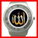 Allah God ISLAMIC Hobby Stainless Steel Wrist Watch Unisex 014