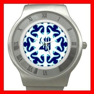 ALLAH GOD ISLAMIC Hobby Fun Stainless Steel Wrist Watch Unisex 015