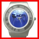 Dolphin Lovers Animal Stainless Steel Wrist Watch Unisex 056