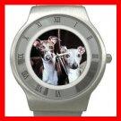 ITALIAN GREYHOUND Dog Pet Stainless Steel Wrist Watch Unisex 060