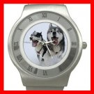 SIBERIAN HUSKY Dog Animal Stainless Steel Wrist Watch Unisex 061