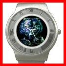 Wild Wolves Animal Stainless Steel Wrist Watch Unisex 090