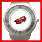 Wizard of Oz Ruby Slipper Stainless Steel Wrist Watch Unisex 095