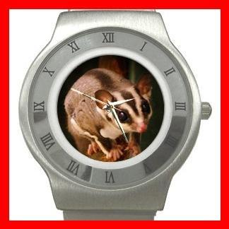 Sugar Glider Animal Hobby Stainless Steel Wrist Watch Unisex 106