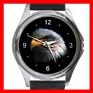 Eagle Eye American Flag Metal Wrist Watch Unisex 005