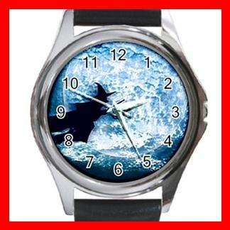 Halloween Witch Myth Metal Wrist Watch Unisex 006