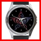 Wicca Pentagram Dragons Metal Wrist Watch Unisex 022