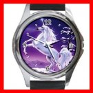 Unicorn Moon Myth Fantasy Metal Wrist Watch Unisex 025
