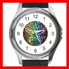 Pentagram Pentacle Seasons Round Metal Wrist Watch Unisex 036