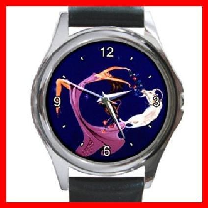 Capricorn Zodiac Hobby Round Metal Wrist Watch Unisex 054