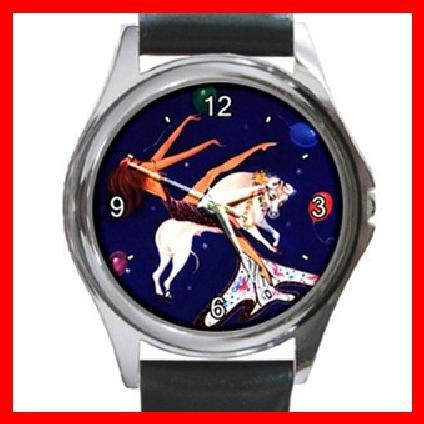 Taurus Zodiac Hobby Round Metal Wrist Watch Unisex 059