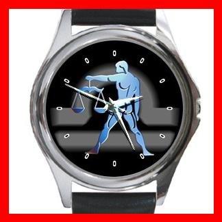 Libra Zodiac Hobby Round Metal Wrist Watch Unisex 089