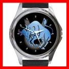 Taurus Zodiac Hobby Round Metal Wrist Watch Unisex 093