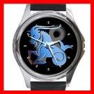 Capricorn Zodiac Hobby Round Metal Wrist Watch Unisex 094