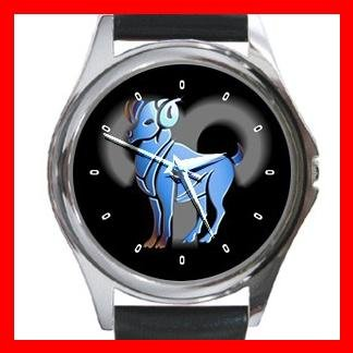 Aries Zodiac Hobby Round Metal Wrist Watch Unisex 097