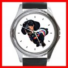 Dachshund Dog Pet Round Metal Wrist Watch Unisex 111