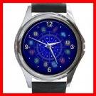 Zodiac Sign Hobby Round Metal Wrist Watch Unisex 119